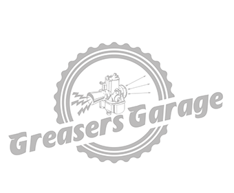 Greasers Garage, Logo