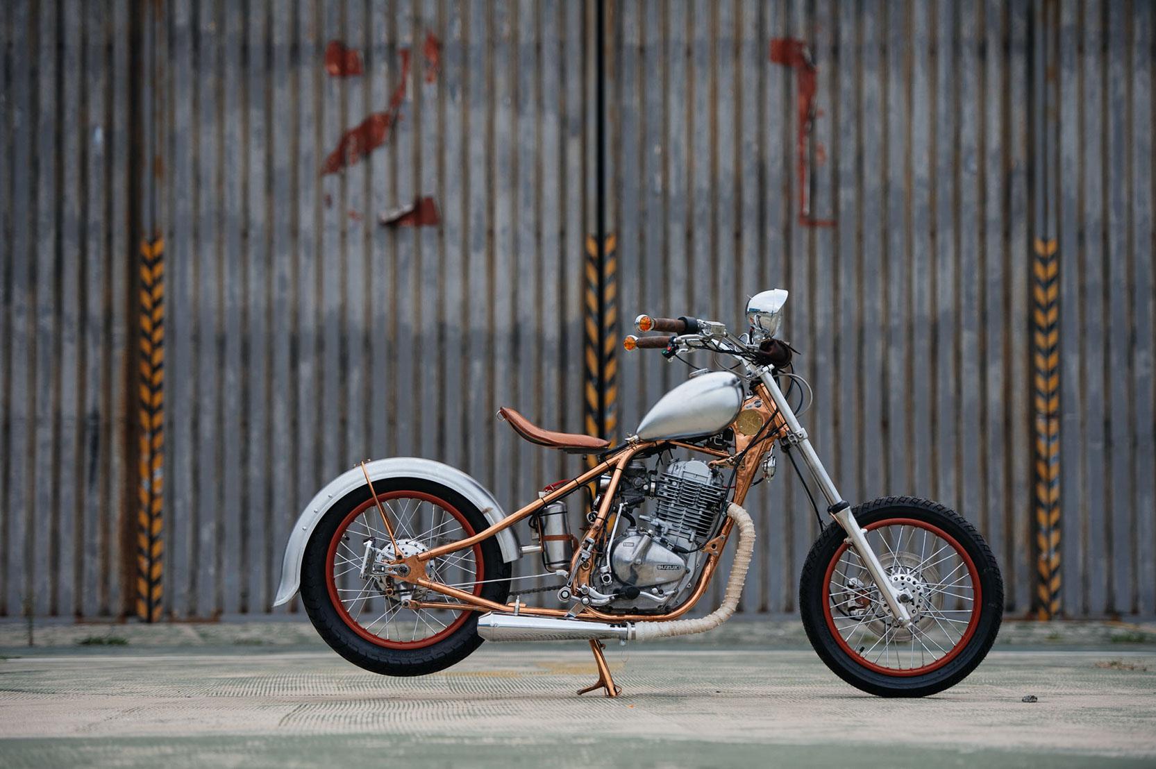 Copper Bobber Suzuki Gn 400